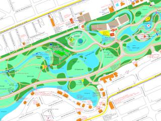hetVondelparknet Main Kaarten van het Vondelpark